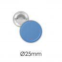Badge bouton métal 25 mm